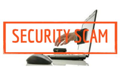 Fake Security Company warning