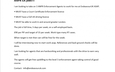 EndeavourSecurity is recruiting!