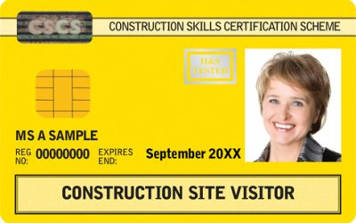 HS01B – CSCS Construction Site Visitor Card
